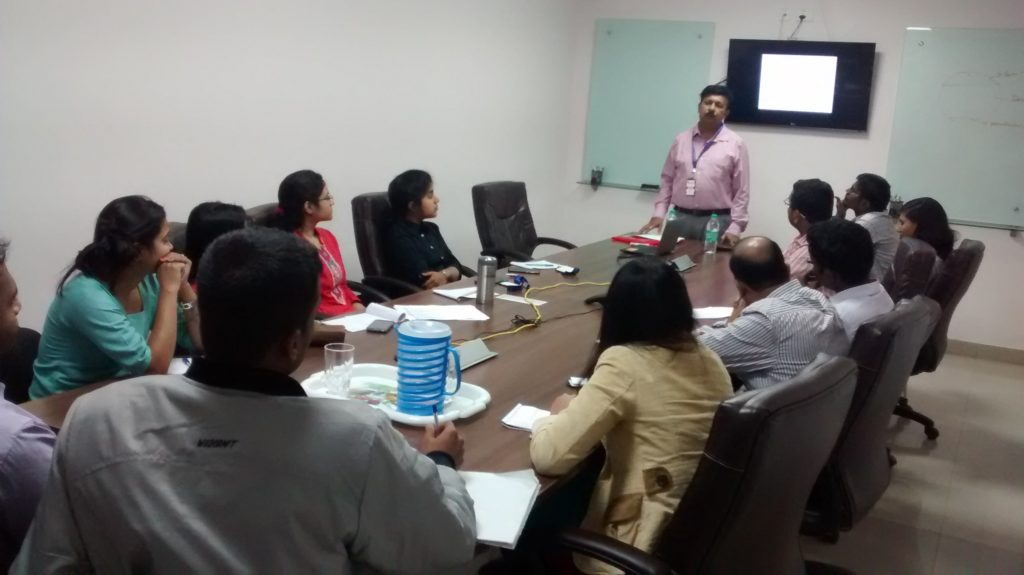 Training session for Craft Silicon, Bengaluru.