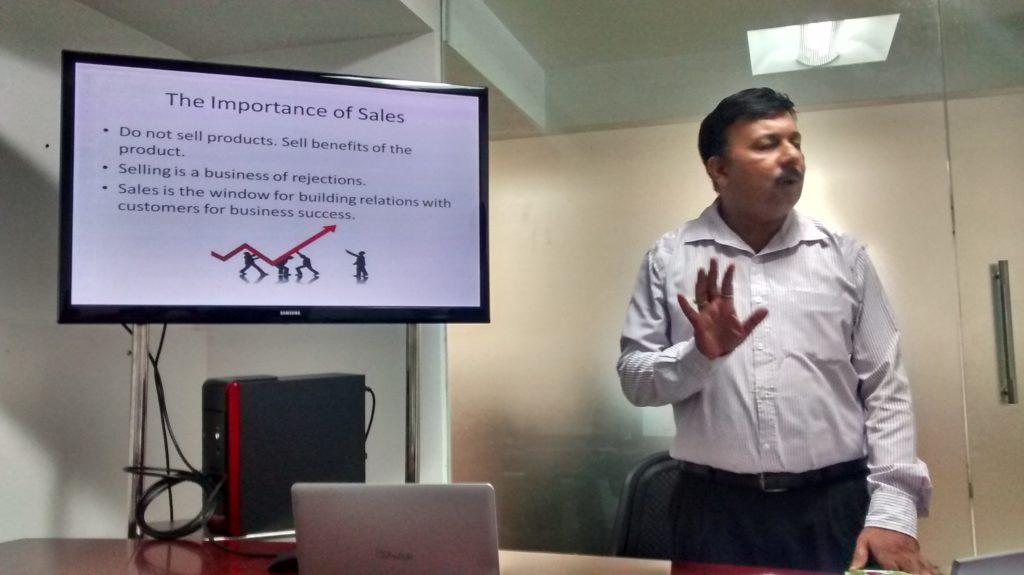 Sales training for Hostdime, Trivandrum