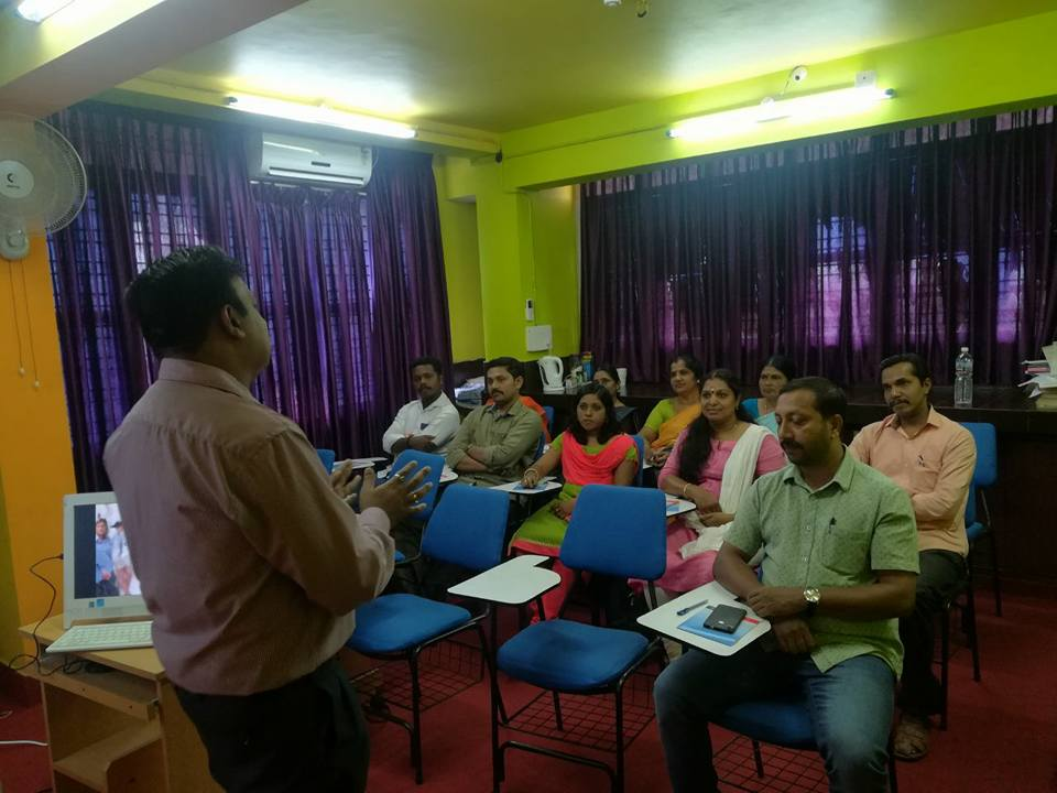 Training imparted for HPCL