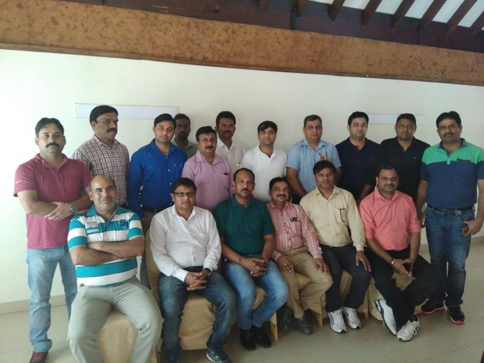 Training for MAT Brakes Pvt Ltd, held at Poovar Island Resorts.