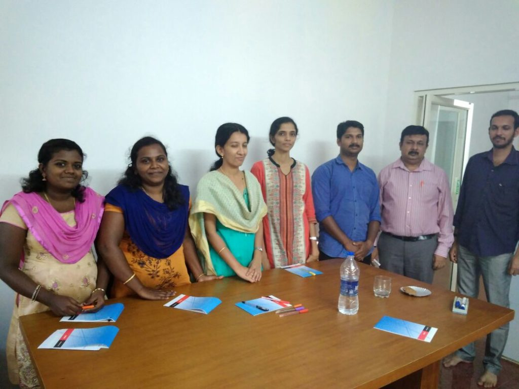 Training for Dishari Consultants Trivandrum