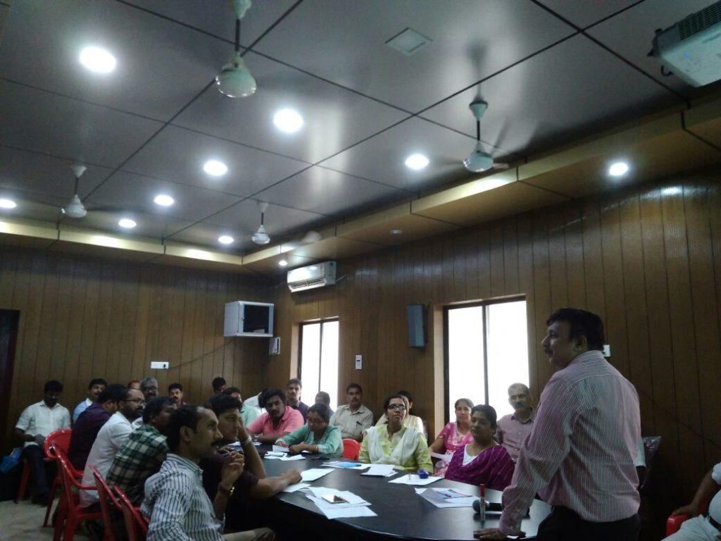 Training for Railways @Ernakulam on 14-03-18