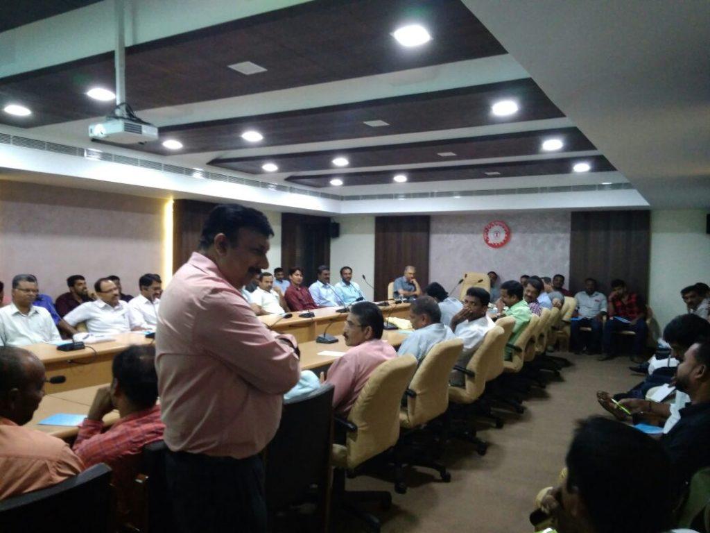 Training for Railways @Trivandrum on 16-03-18