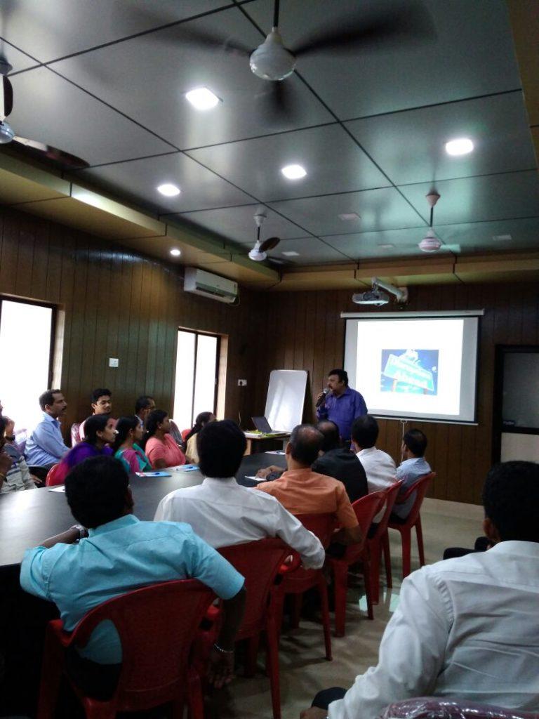 Training for Railways at Ernakulam on 23/03/2018