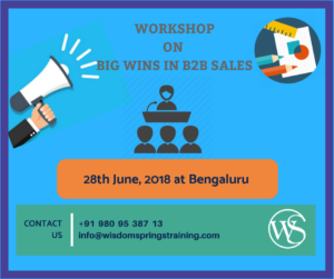B2B SALES-CORPORATE TRAINING