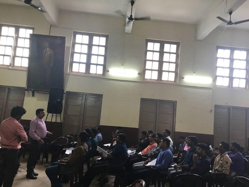 Training for GHP India at Kottayam.